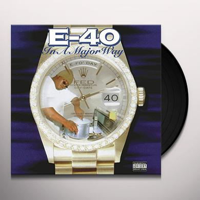 E-40 IN A MAJOR WAY Vinyl Record