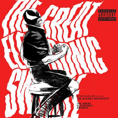 Bloody Beetroots GREAT ELECTRONIC SWINDLE Vinyl Record