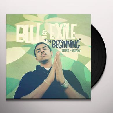 Blu & Exile IN THE BEGINNING: BEFORE THE HEAVENS Vinyl Record
