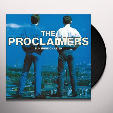 Proclaimers SUNSHINE ON LEITH Vinyl Record