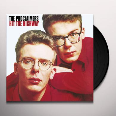 Proclaimers HIT THE HIGHWAY Vinyl Record