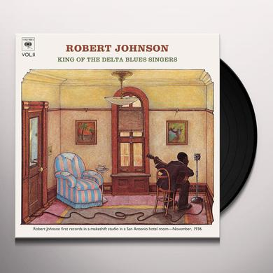 Robert Johnson KING OF THE DELTA BLUES SINGERS 2 Vinyl Record