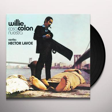 Willie Colon COSA NUESTRA Vinyl Record