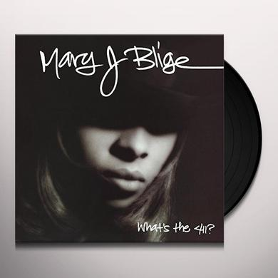Mary J Blige WHAT'S THE 411 Vinyl Record