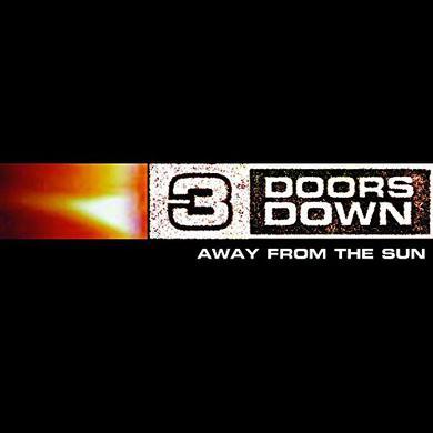 3 Doors Down AWAY FROM THE SUN Vinyl Record
