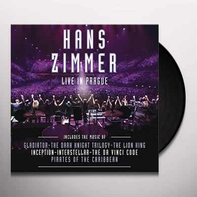 Hans Zimmer LIVE IN PRAGUE Vinyl Record