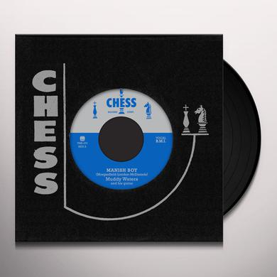 Muddy Waters MANISH BOY / YOUNG FASHIONED WAYS Vinyl Record