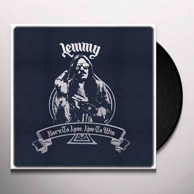 Lemmy BORN TO LOSE LIVE TO WIN - CLOTH BAG Vinyl Record