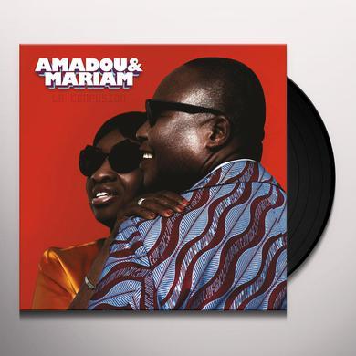 Amadou & Mariam LA CONFUSION Vinyl Record