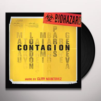 Cliff Martinez CONTAGION / O.S.T. Vinyl Record