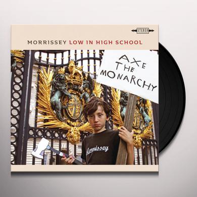 Morrissey LOW IN HIGH SCHOOL Vinyl Record