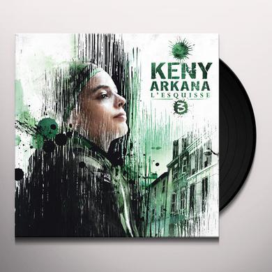Keny Arkana L'ESQUISSE 3 Vinyl Record