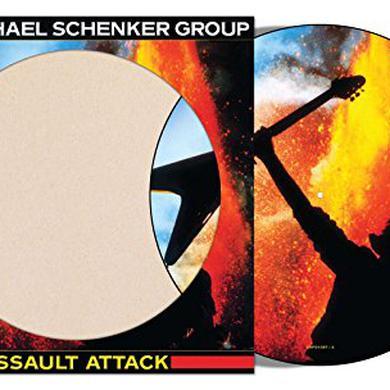 Michael Schenker ASSAULT ATTACK (PICTURE DISC) Vinyl Record