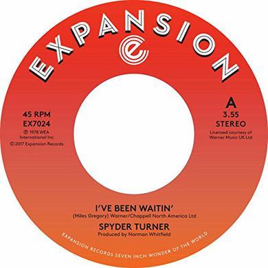 Spyder Turner I'VE BEEN WAITIN / GET DOWN Vinyl Record