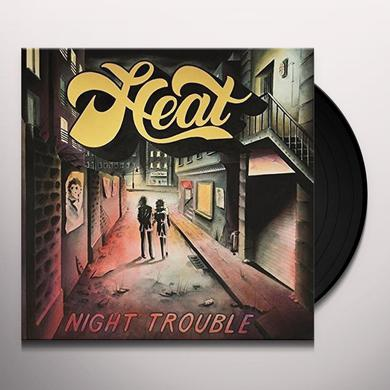 Heat NIGHT TROUBLE Vinyl Record