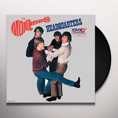 Monkees HEADQUARTERS STACK-O-TRACKS Vinyl Record