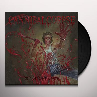 Cannibal Corpse RED BEFORE BLACK Vinyl Record