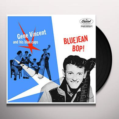 Gene Vincent & His Blue Caps BLUE JEAN BOP Vinyl Record