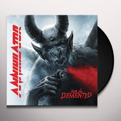 Annihilator FOR THE DEMENTED Vinyl Record