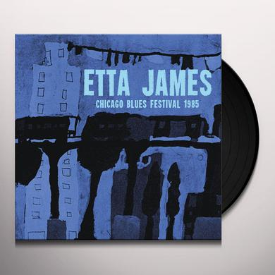 Etta James CHICAGO BLUE FESTIVAL 1985 Vinyl Record