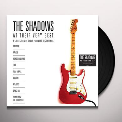 AT THEIR VERY BEST: THE SHADOWS Vinyl Record