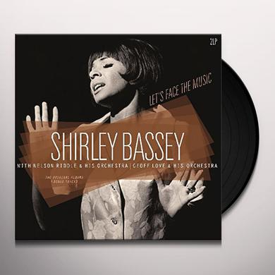 LET'S FACE THE MUSIC / SHIRLEY BASSEY Vinyl Record
