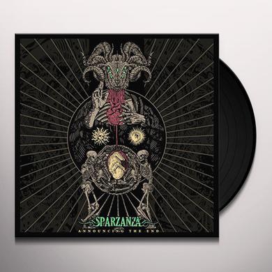 Sparzanza ANNOUNCING THE END Vinyl Record