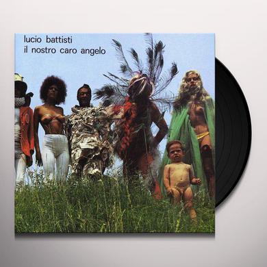 Lucio Battisti IL NOSTRO CARO ANGELO Vinyl Record
