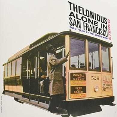 Thelonious Monk ALONE IN SAN FRANCISCO Vinyl Record