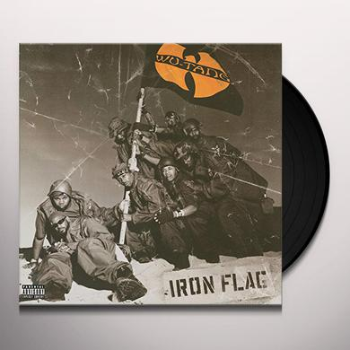 Wu-Tang Clan IRON FLAG Vinyl Record