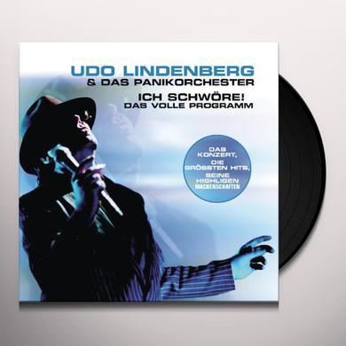 Udo Lindenberg ICH SCHWORE: DAS VOLLE PROGRAMM Vinyl Record