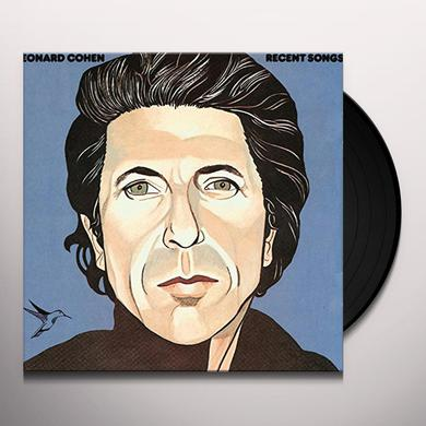 Leonard Cohen RECENT SONGS Vinyl Record