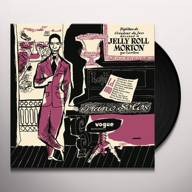 Jelly Roll Morton PIANOS SOLOS Vinyl Record