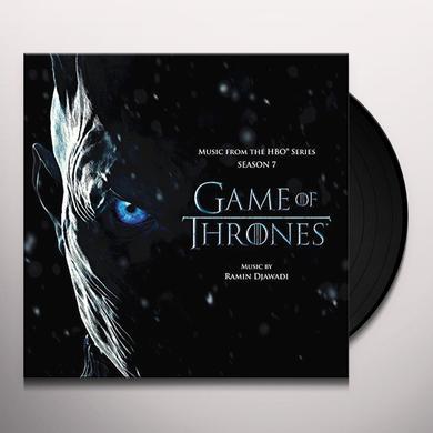 RAMIN DJAWADI GAME OF THRONES: SEASON 7 / O.S.T. Vinyl Record