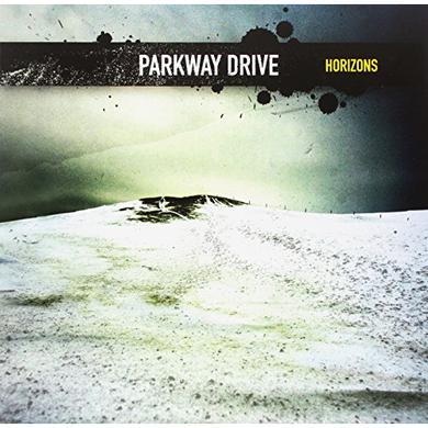 Parkway Drive HORIZONS (TRANS YELLOW / BLUE SPLATTER VINYL) Vinyl Record