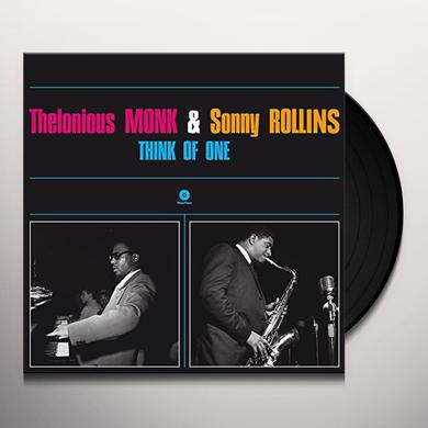 Thelonious Monk / Sonny Rollins THINK OF ONE Vinyl Record - Limited Edition, 180 Gram Pressing, Remastered, Spain Release