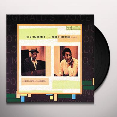 Ella Fitzgerald SINGS THE DUKE ELLINGTON SONGBOOK Vinyl Record - Limited Edition, 180 Gram Pressing
