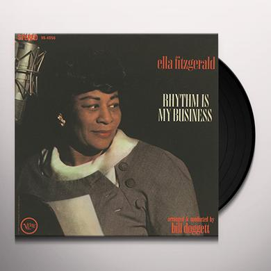 Ella Fitzgerald RHYTHM IS MY BUSINESS + 2 BONUS TRACKS Vinyl Record - Limited Edition, 180 Gram Pressing