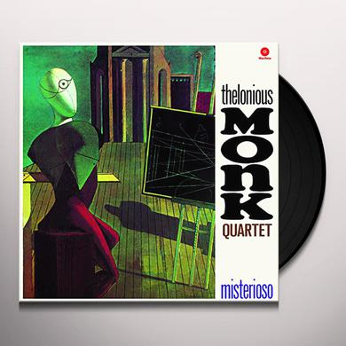 Thelonious Quartet Monk MISTERIOSO + 1 BONUS TRACK (BONUS TRACK) Vinyl Record - Limited Edition