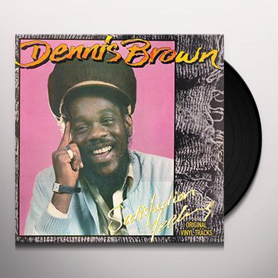 Dennis Brown SATISFACTION FEELING Vinyl Record