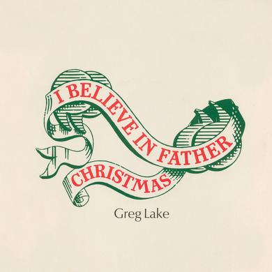 Greg Lake I BELIEVE IN FATHER CHRISTMAS Vinyl Record