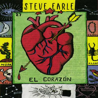 Steve Earle EL CORAZON Vinyl Record