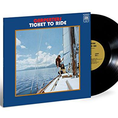 Carpenters TICKET TO RIDE Vinyl Record