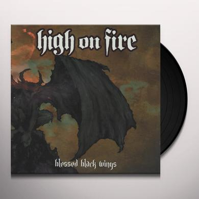 High On Fire BLESSED BLACK WINDS Vinyl Record
