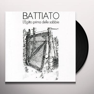 Franco Battiato L'EGITTO PRIMA DELLE SABBIE Vinyl Record