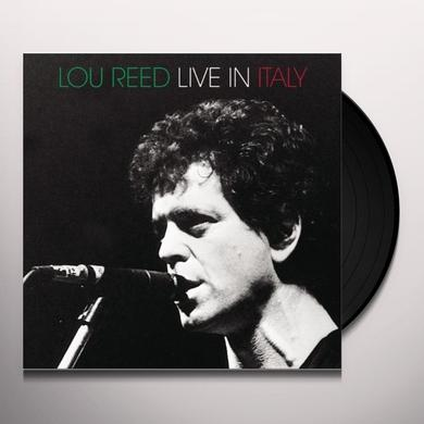 Lou Reed LIVE IN ITALY Vinyl Record