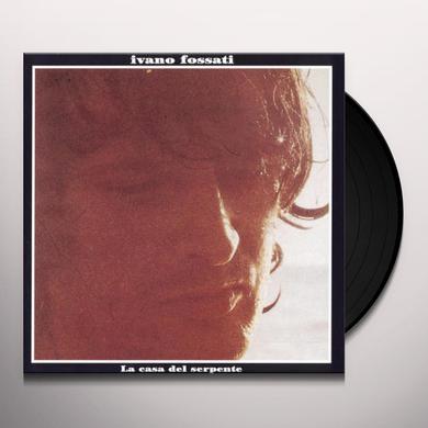 Ivano Fossati LA CASA DEL SERPENTE Vinyl Record