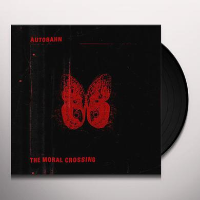 Autobahn MORAL CROSSING (RED VINYL) Vinyl Record