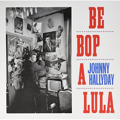 Johnny Hallyday BE BOP A LULA Vinyl Record