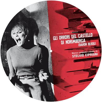 Stelvio Cipriani GLI ORRORI DEL CASTELLO DI NORIMBERGA - O.S.T. Vinyl Record